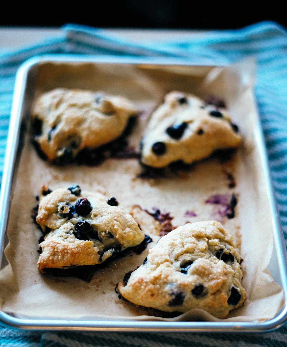 Crunchy, satisfying, light dairy-free vegan scones